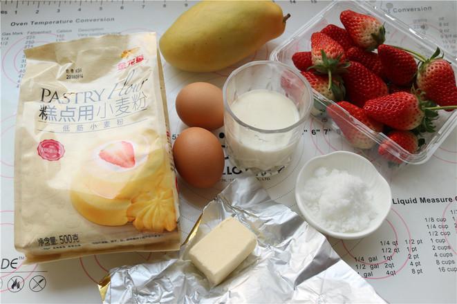 美食DIY ——草莓蛋糕卷
