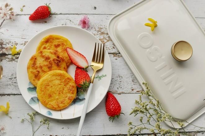 香甜玉米饼成品图