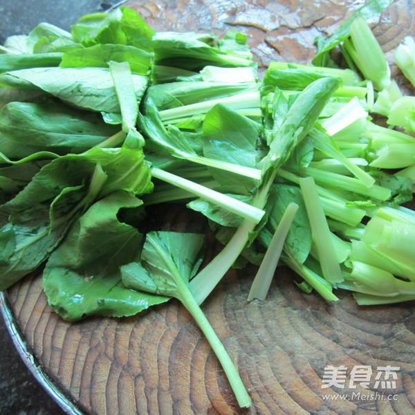 炒小白菜的做法图解
