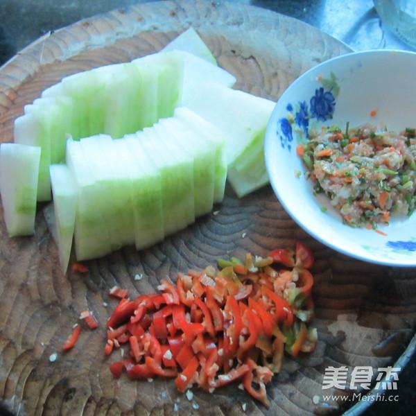 肉末煎冬瓜的做法图解