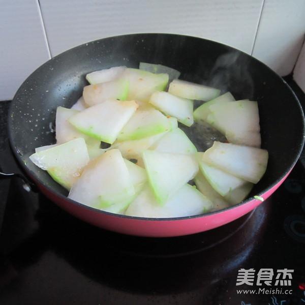 肉末煎冬瓜怎么炒