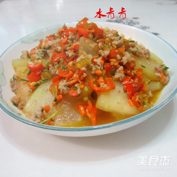 肉末煎冬瓜怎样炒