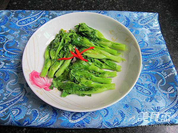 蚝油白菜成品图