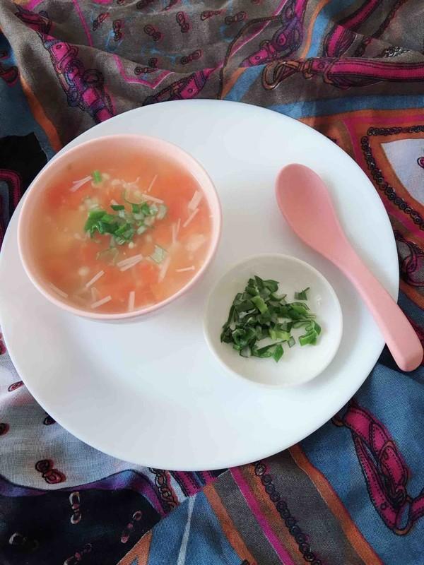 金针菇西红柿汤成品图