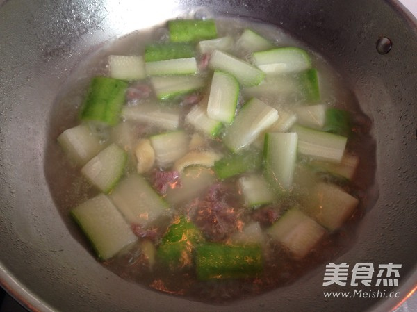 毛瓜瘦肉汤怎么煮