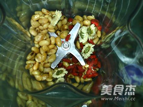 菊花枸杞熟豆豆浆怎么吃