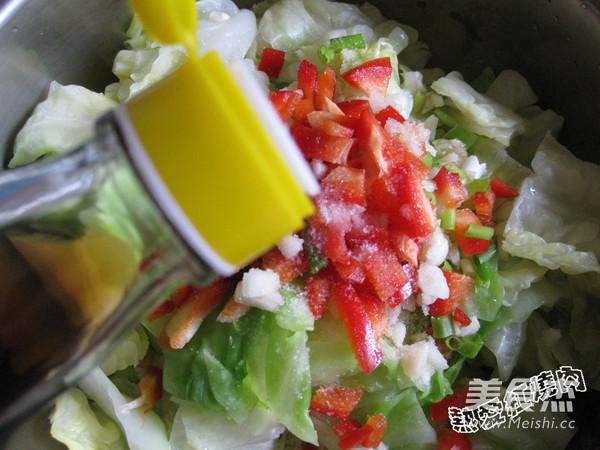 凉拌圆白菜怎么做