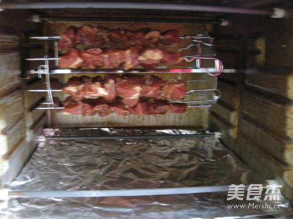 烤猪肉串怎样做