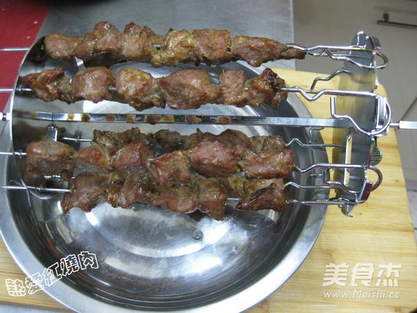 烤猪肉串怎样炒