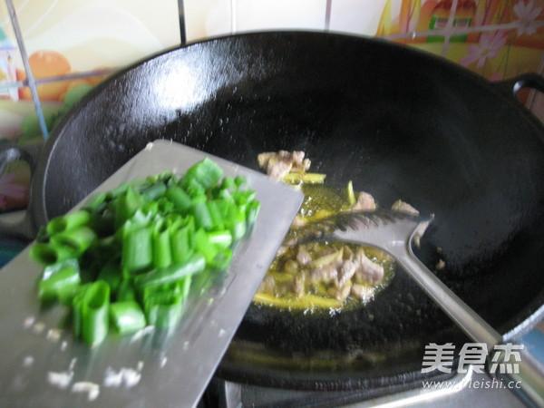 肉炒有机菜花怎么做