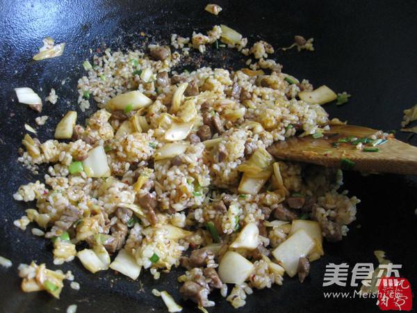 辣白菜炒饭怎么煮
