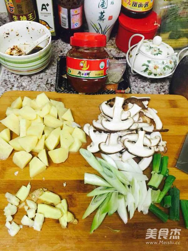 土豆焖鸡的做法图解