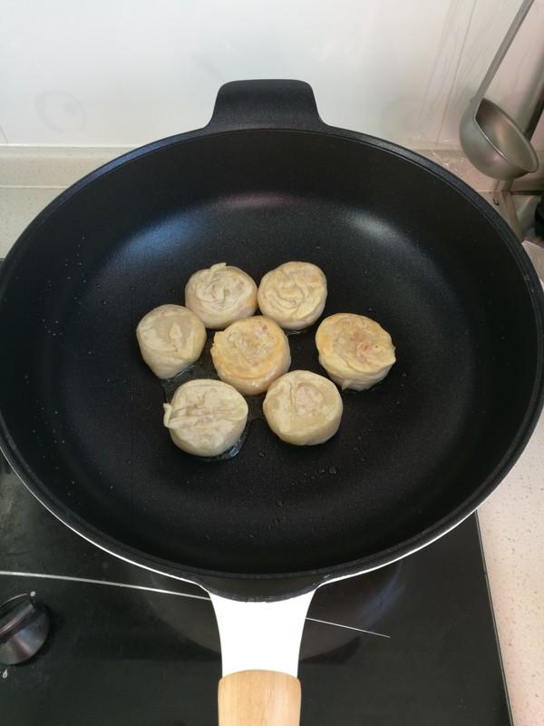 火腿萝卜丝饼的制作方法