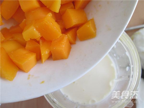芒果奶昔怎么吃
