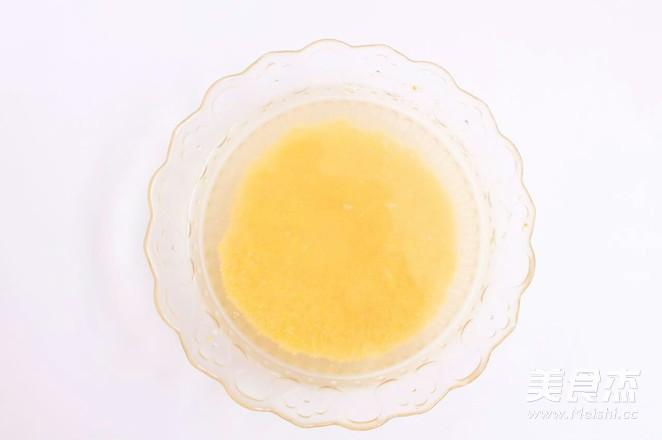 小米山药苹果粥 宝宝腹泻食疗的做法图解
