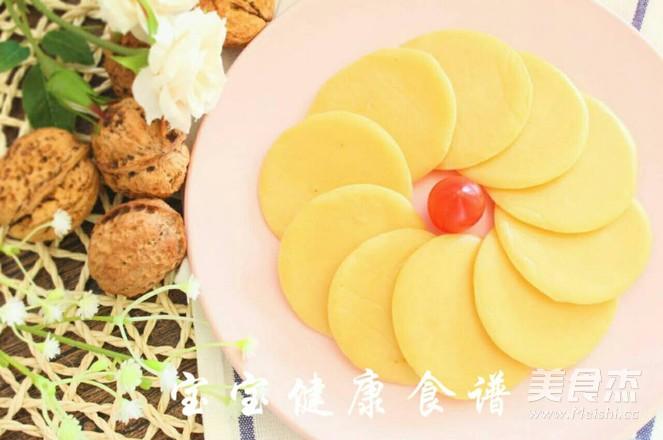 核桃蛋饼  宝宝健康食谱成品图