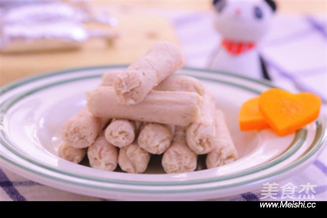 山药猪肉肠 宝宝辅食食谱成品图