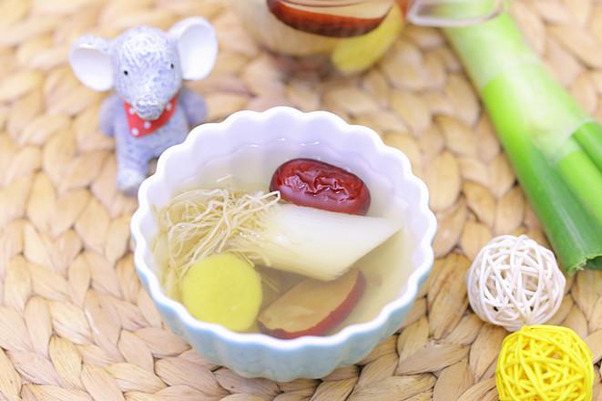 宝宝感冒食疗——红枣葱姜水 宝宝辅食食谱成品图