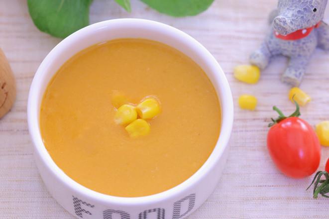 番茄牛肉玉米浓汤 宝宝辅食食谱成品图