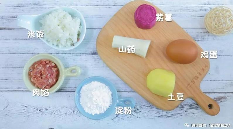 山药米饭软饼  宝宝辅食食谱