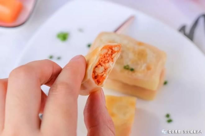 番茄鸡肉卷  宝宝辅食食谱成品图