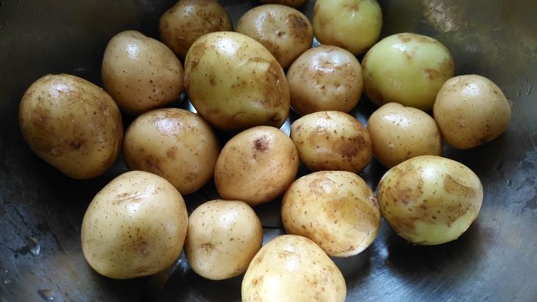 香煎小土豆#夜宵#的做法大全