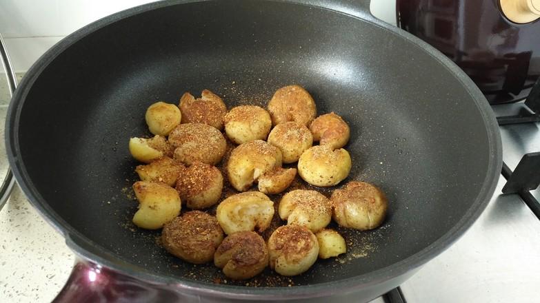 香煎小土豆#夜宵#怎么吃