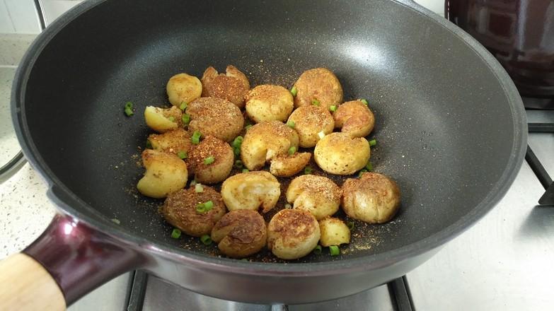 香煎小土豆#夜宵#怎么做