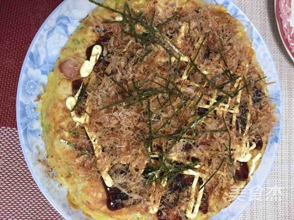 日本料理 喜烧 (お好み焼き)成品图