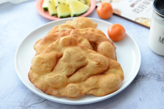 简单早餐—油饼(酵母版)成品图