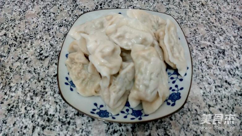 青椒猪肉水饺成品图