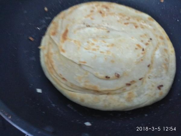 五香盘丝葱油饼怎样做
