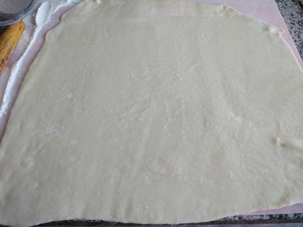 蜜豆烫面饼的家常做法