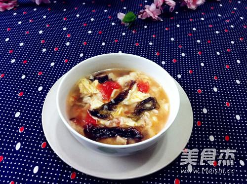 老北京疙瘩汤成品图