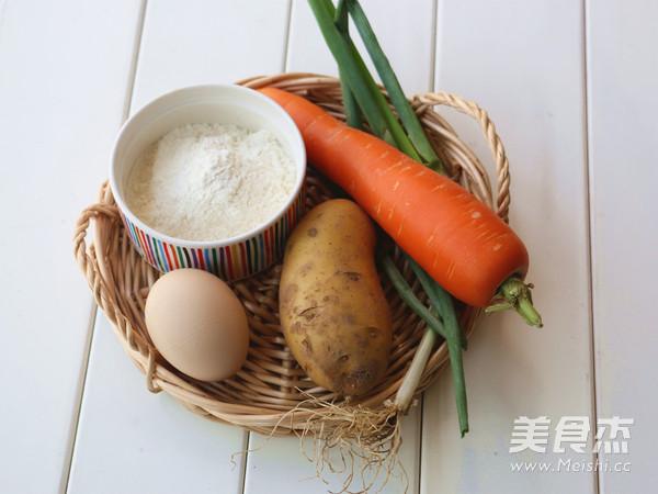 土豆鸡蛋软饼的做法大全