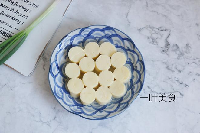 日本豆腐蒸虾仁的做法图解