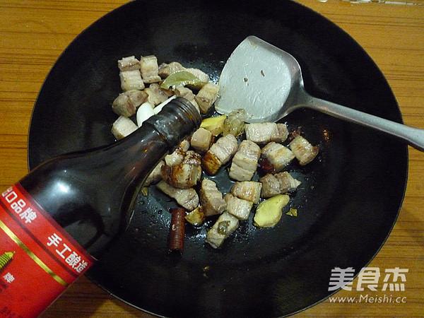 猪肉炖粉条怎么炒