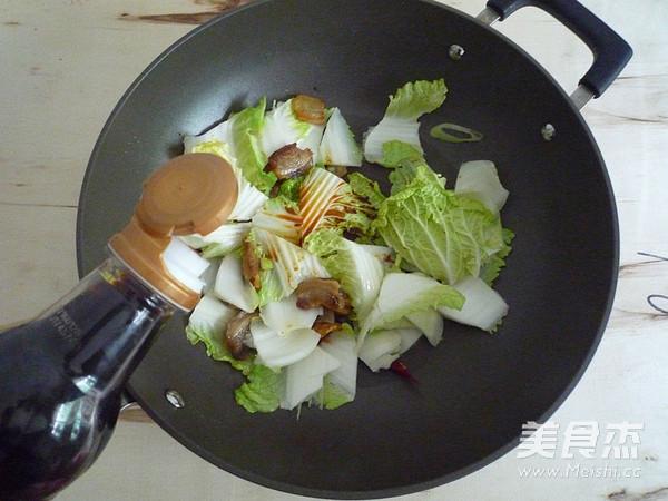 白菜油渣炖粉条怎么煮
