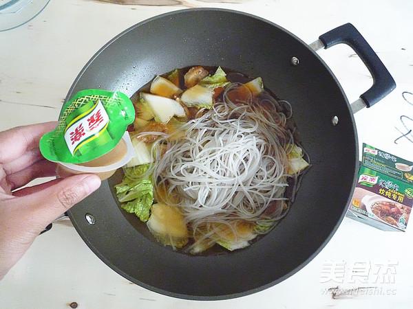 白菜油渣炖粉条怎样煸