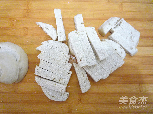 香酥反沙馒头条的做法图解