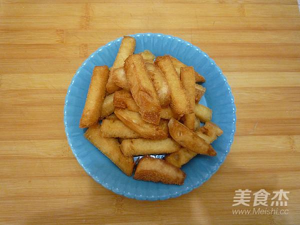 香酥反沙馒头条的简单做法
