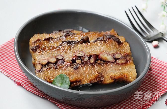 红枣切糕成品图