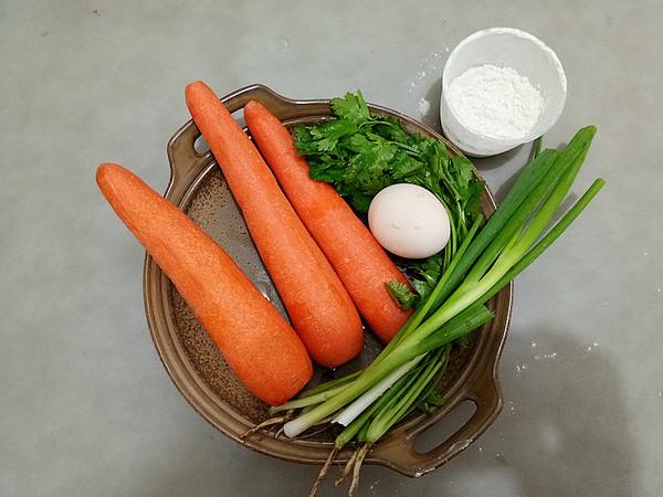 炸胡萝卜香菜丸子的做法大全