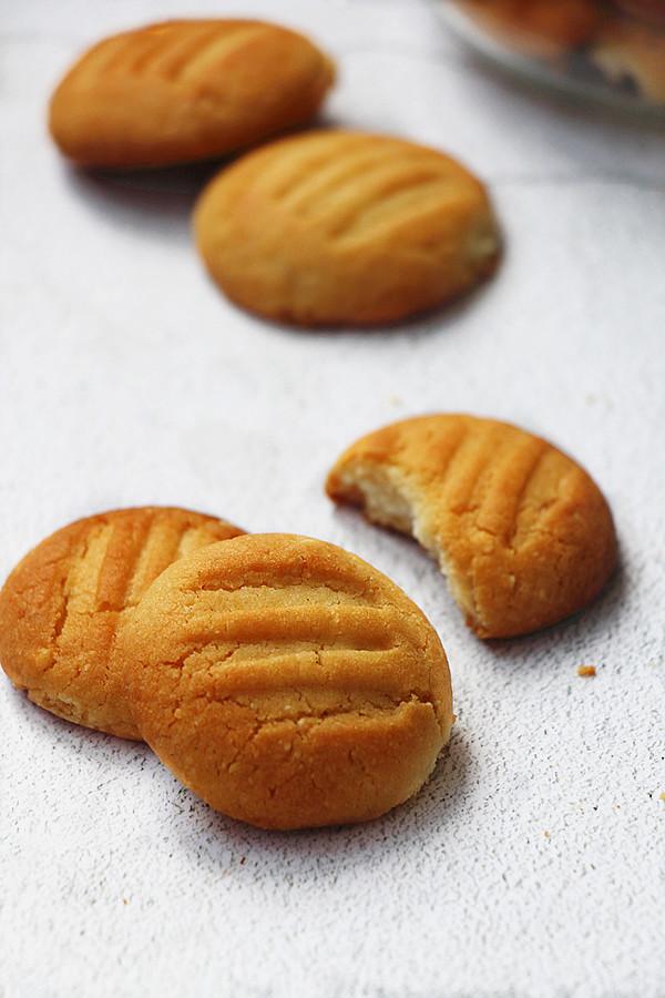 杏仁酥饼成品图