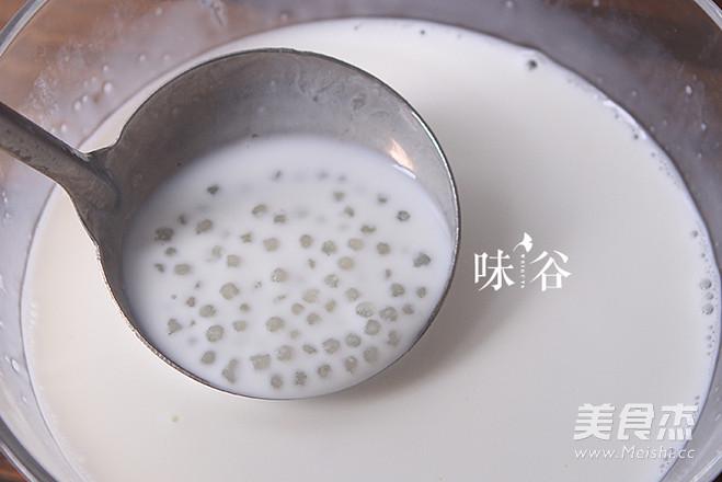 红豆牛奶西米露怎么做