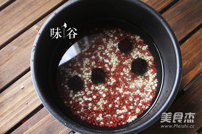 红豆薏米甜汤的家常做法