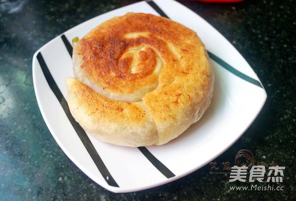 香葱鲜肉蜗牛饼成品图