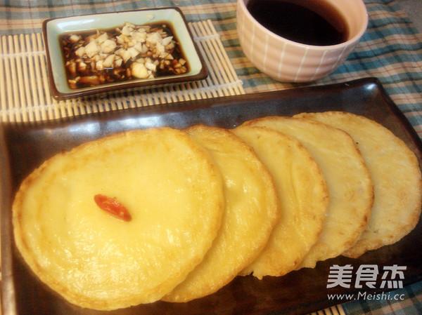 韩式泡菜土豆饼成品图