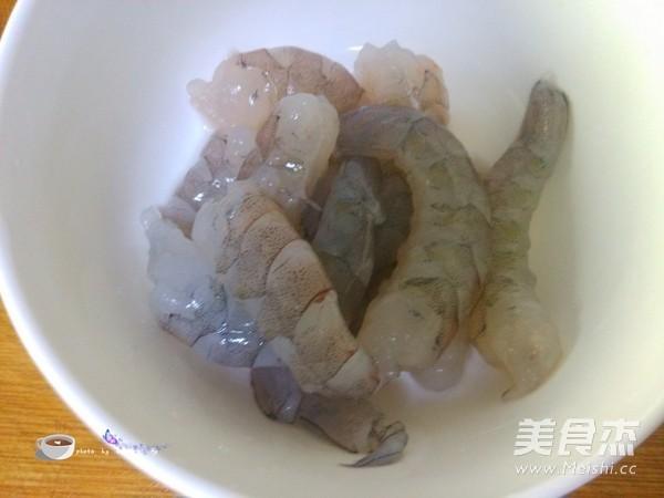 剁椒虾仁蒸豆腐的做法图解