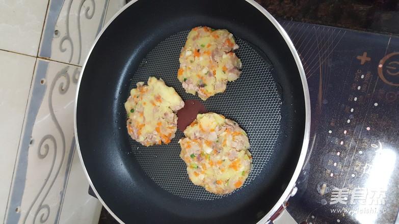 肉碎杂蔬土豆饼(减脂版)怎么炖